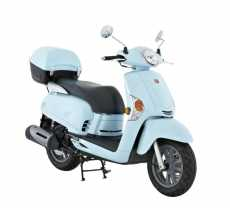 Kymco Like 200i at Scootling Grey Lynn