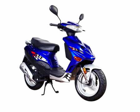Hire this sporty 50cc scooter in Auckland