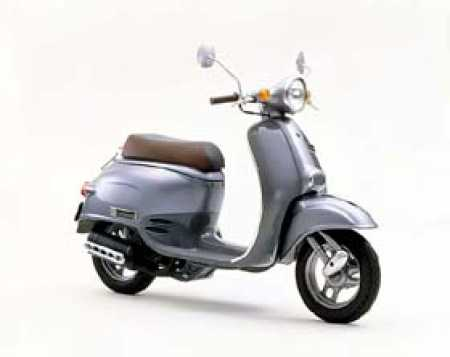 Hire this retro 50cc scooter in Auckland